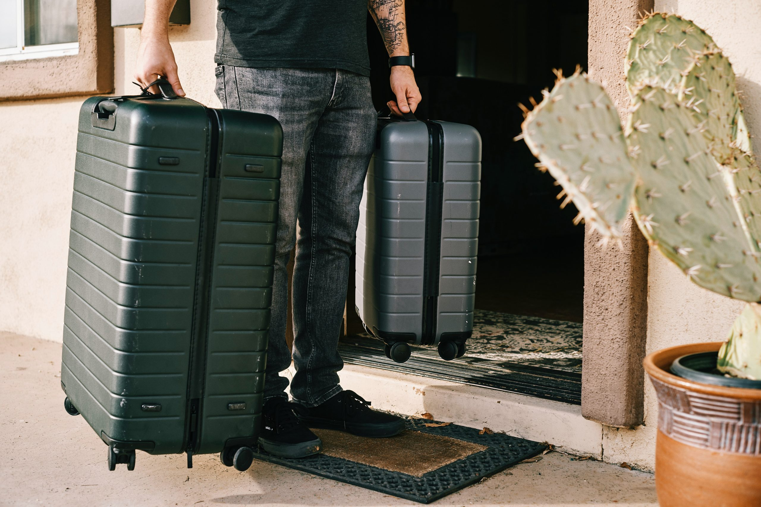 How to Lock a Suitcase Without a Lock